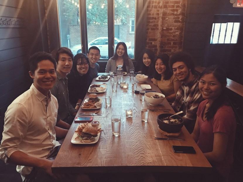 dinner at southgate - april lately | brunch at audrey's