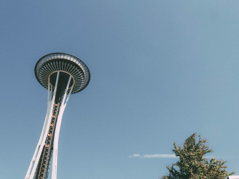 space needle - seattle, summer break 2017 | brunch at audrey's