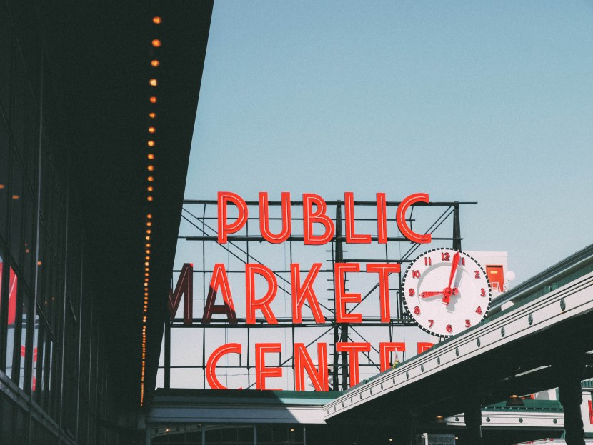 pike place market - seattle, summer break 2017 | brunch at audrey's