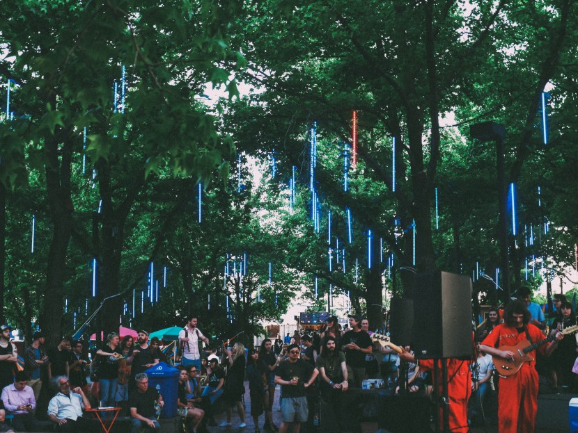 concert at waterfront sessions, spruce street harbor park, philly | brunch at audrey's