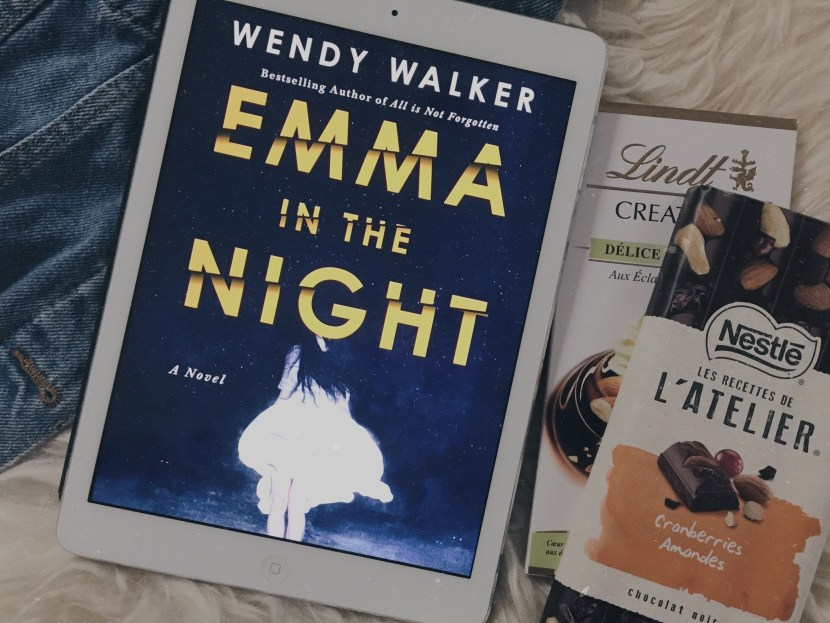 emma in the night by wendy walker, books read this month - july lately | brunch at audrey's