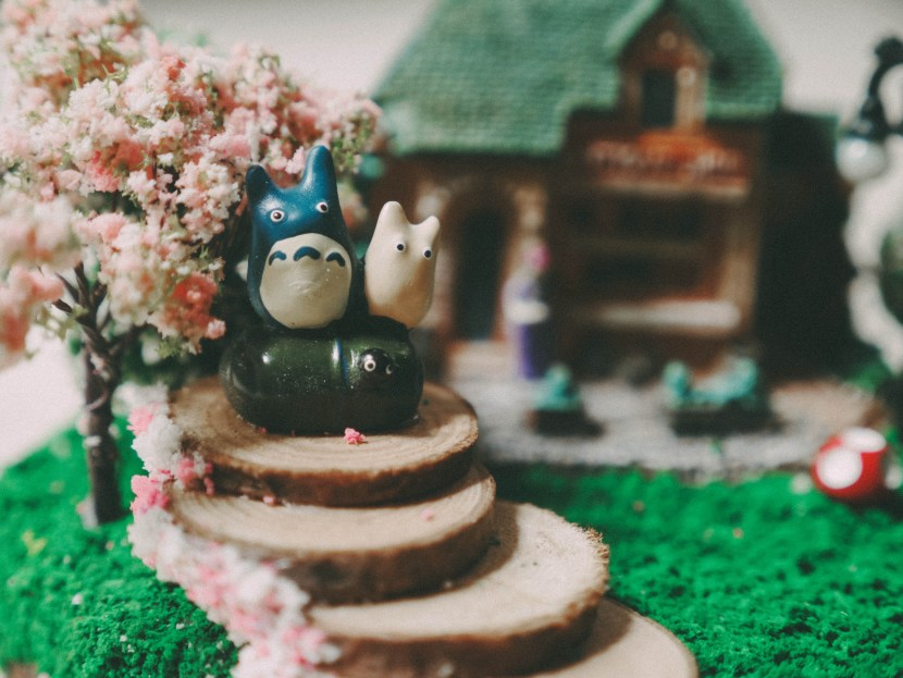 diy studio ghibli inspired music box, shanghai | brunch at audrey's
