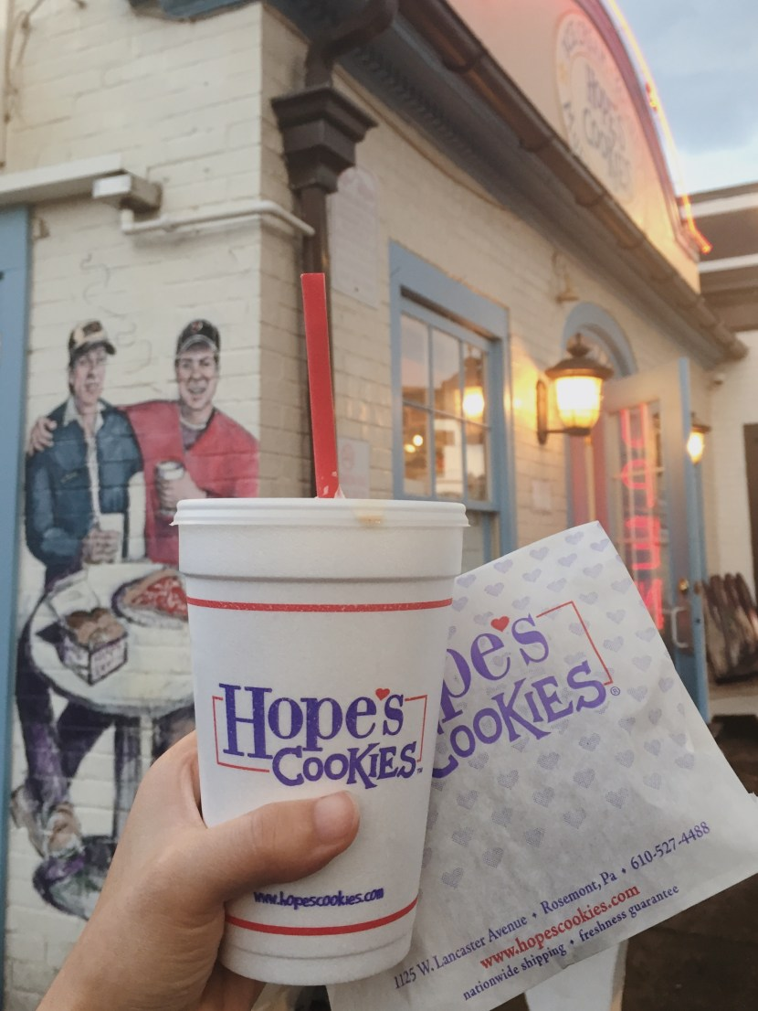 hope's cookies - september lately | brunch at audrey's