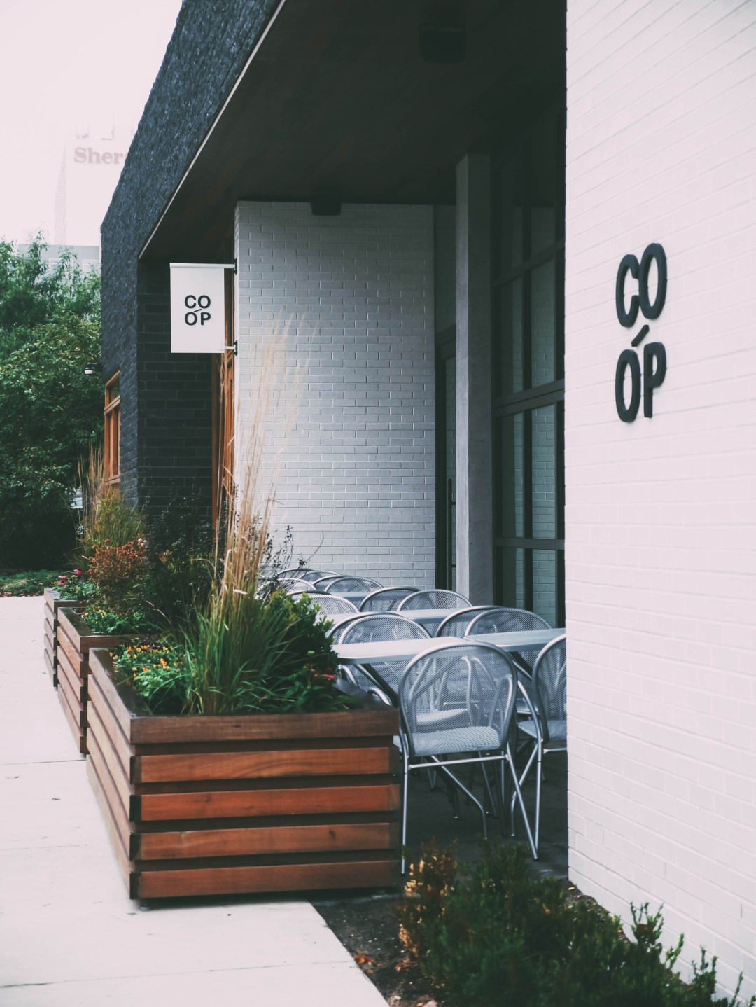co-op exterior - october lately | brunch at audrey's