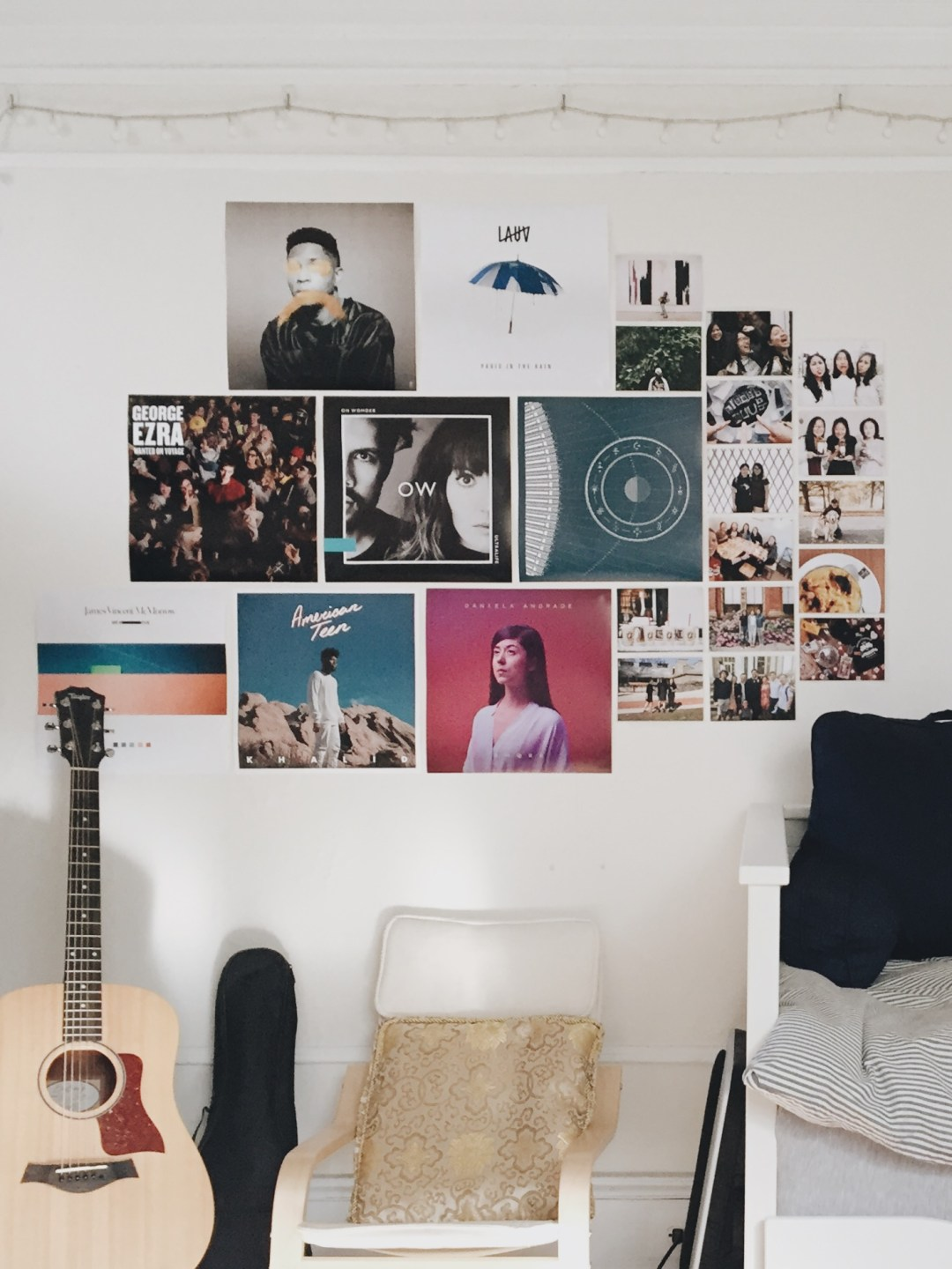 wall in my room - weekly update | brunch at audrey's