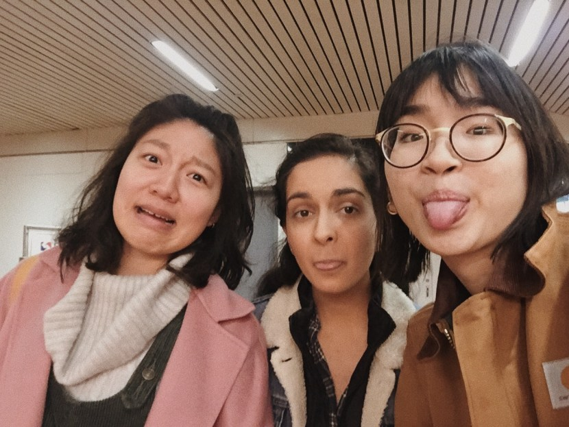 hell fam silly selfie - january lately | brunch at audrey's