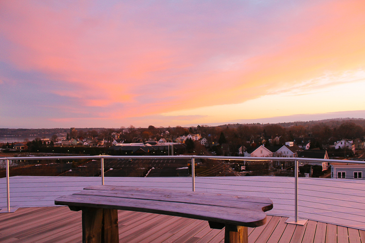A winter weekend at 250 Main in Rockland, Maine