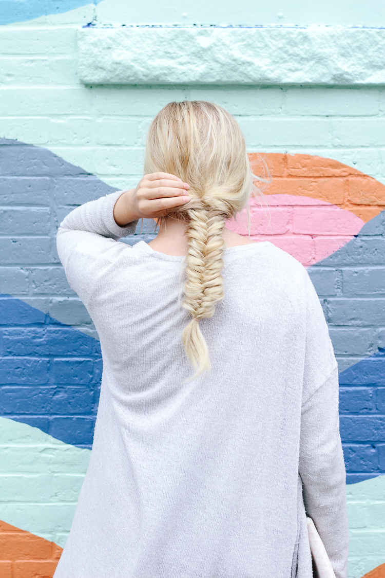 rockland maine, traveling to maine, a weekend in maine, best of maine, where to go in maine, murals in maine, midcoast maine, summer in maine, fishtail braid, braids,