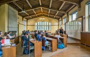 Vanderbilt University, Alumni Hall classroom