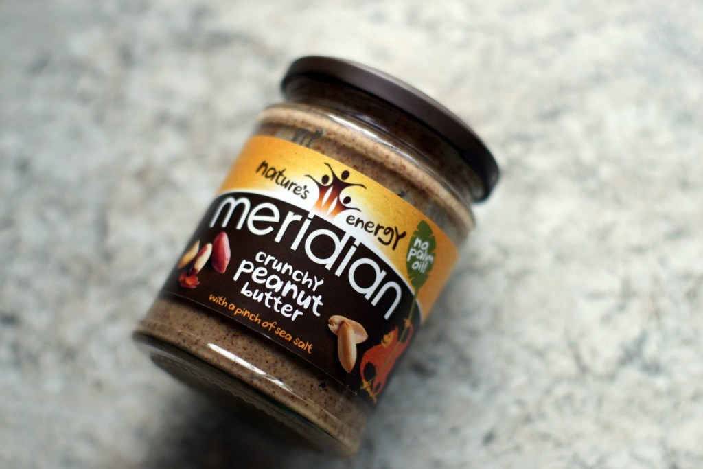 Jar of Meridian Crunchy Peanut Butter