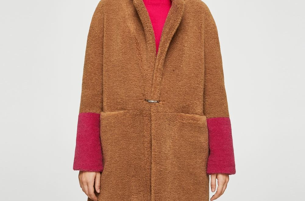 Brunette on Demand Teddy Bear Coat