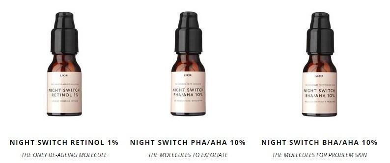 Lixir Skincare Night Switch