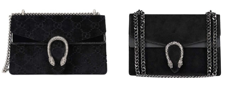 Gucci Dionysus Velvet Bag and Gucci Bag Dupes