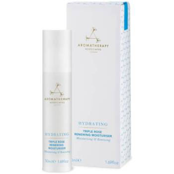 10 Best Face Moisturisers - Aromatherapy Associates Hydrating Triple Rose Renewing Moisturiser