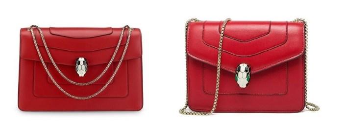 Bulgari Red Serpenti Bag & Bulgari Serpenti Bags Dupes