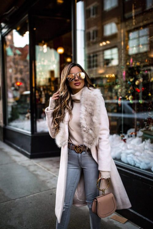 20 Trendy Winter Outfit Ideas To Keep You Warm - 09