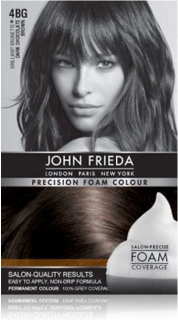 4 Permanent At Home Hair Dyes I've Tried John Frieda Foam Hair Dye