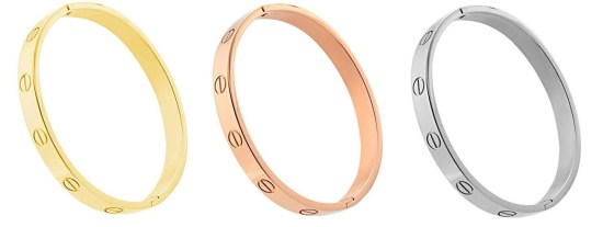 Cartier Love Bracelets Dupes