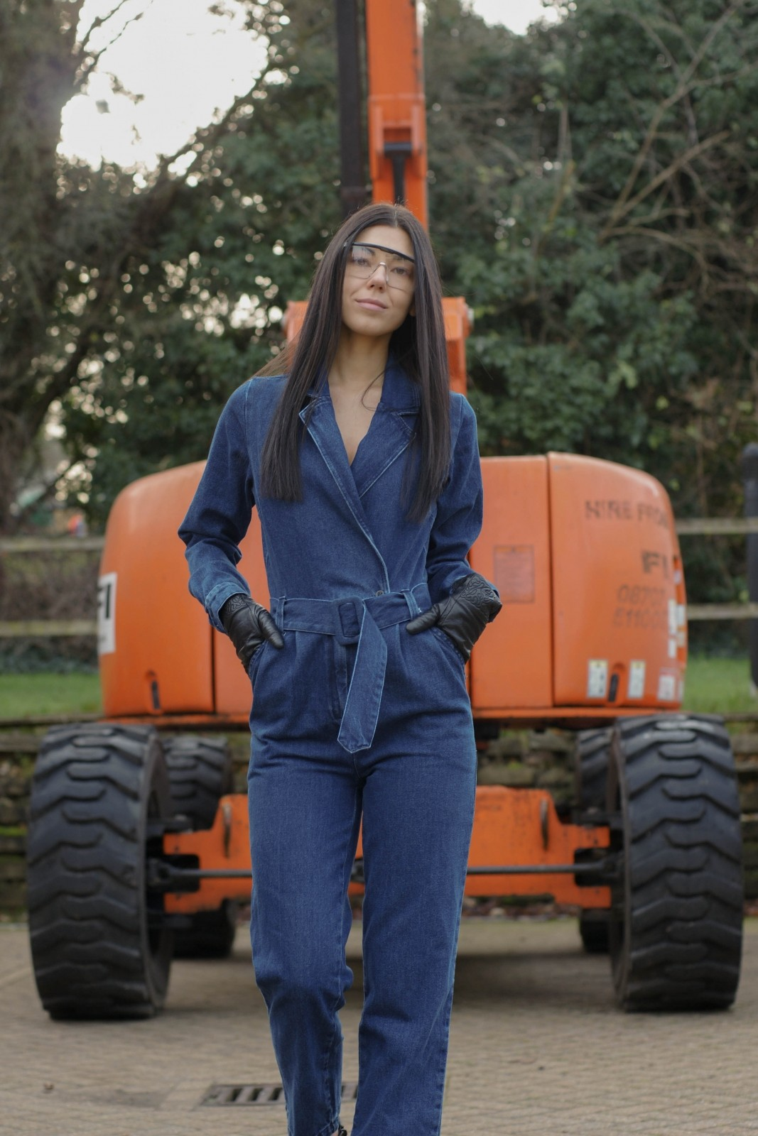 Denim Jumpsuit Styles To Try This Year