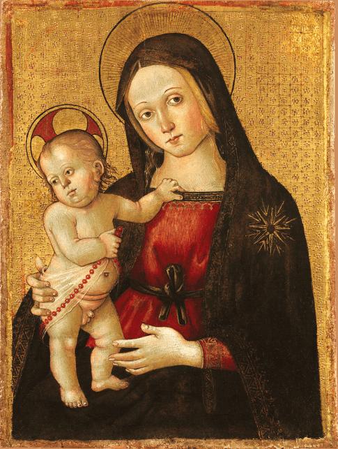 Maestro della Madonna di Orte   Italy, Viterbo   c. 1495-1500   oil and tempera on wood