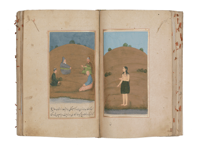 Bahar-i Danesh 'The Springtime of Knowledge' By Shaikh 'Inayatallah Kamboh of Delhi Mughal Delhi Late 17th/ early 18th century