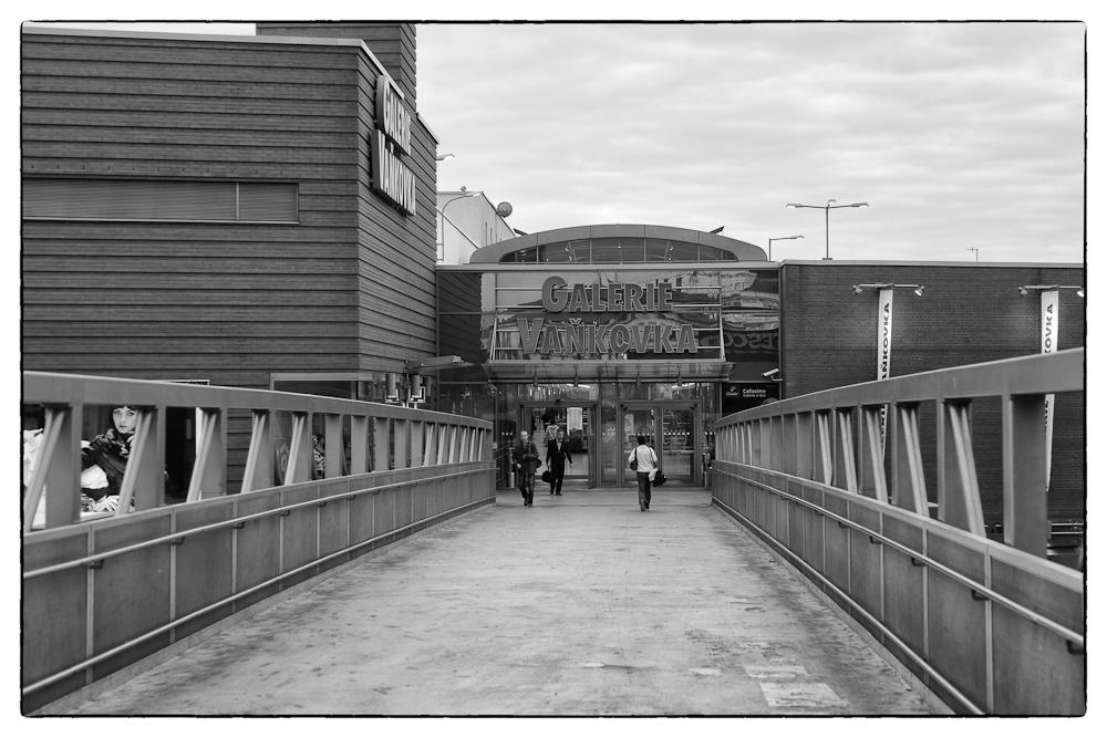 Vaňkovka, most od Tesca