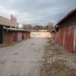 Garáže na ulici Střední