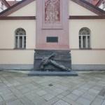 Bronzový reliéf Vlastenec