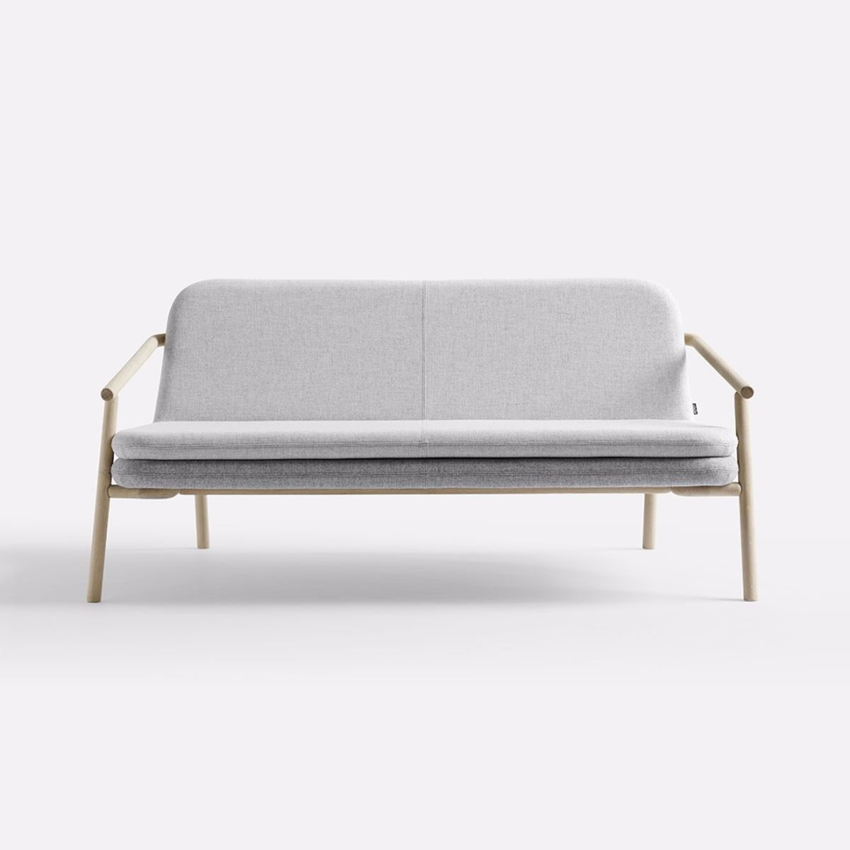 minimal sofa design cream colored sectional 43halle for now kollektion plus halle bruno