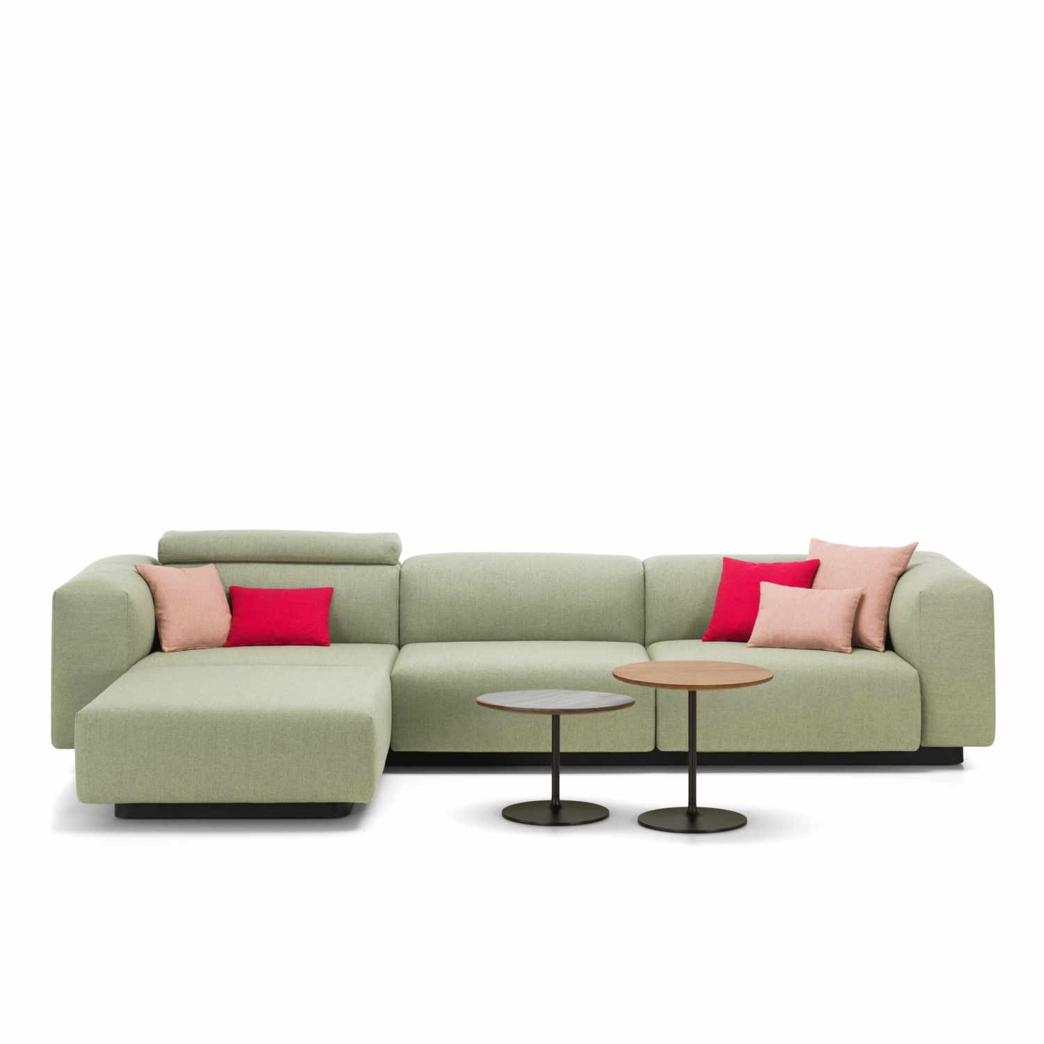 vitra sofa modular how to clean a that smells soft 3er chaise longue bruno wickart ch