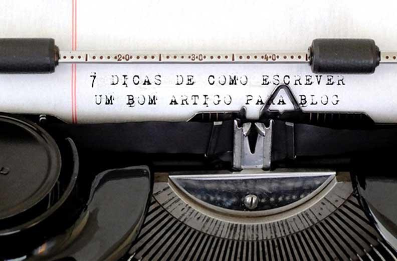 7 dicas de como escrever um bom artigo para blog