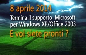 Fine di Windows Xp