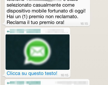 Virus su WhatsApp