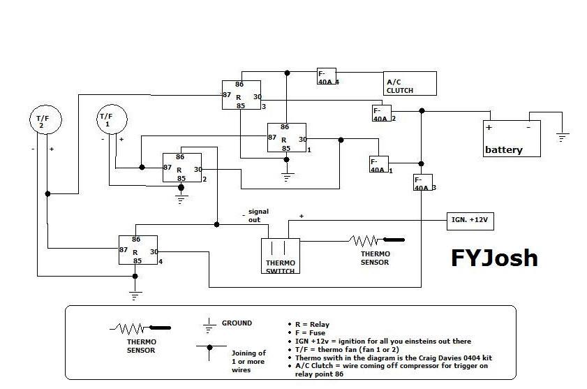 11 Flat Pin Relay Wiring Diagram Thermo Fans Nissan Silvia Nissansilvia Com Hardtuned Net