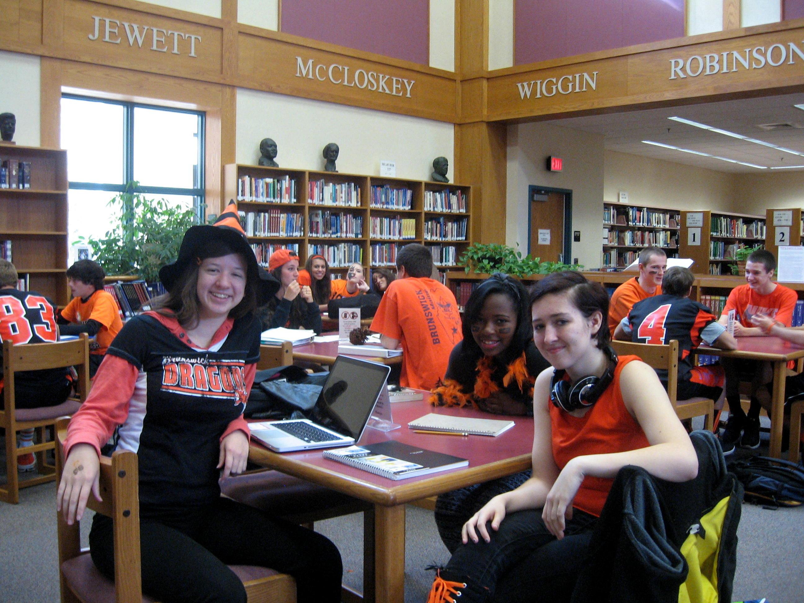 orange black friday at bhs happy spirit week bhs library. Black Bedroom Furniture Sets. Home Design Ideas