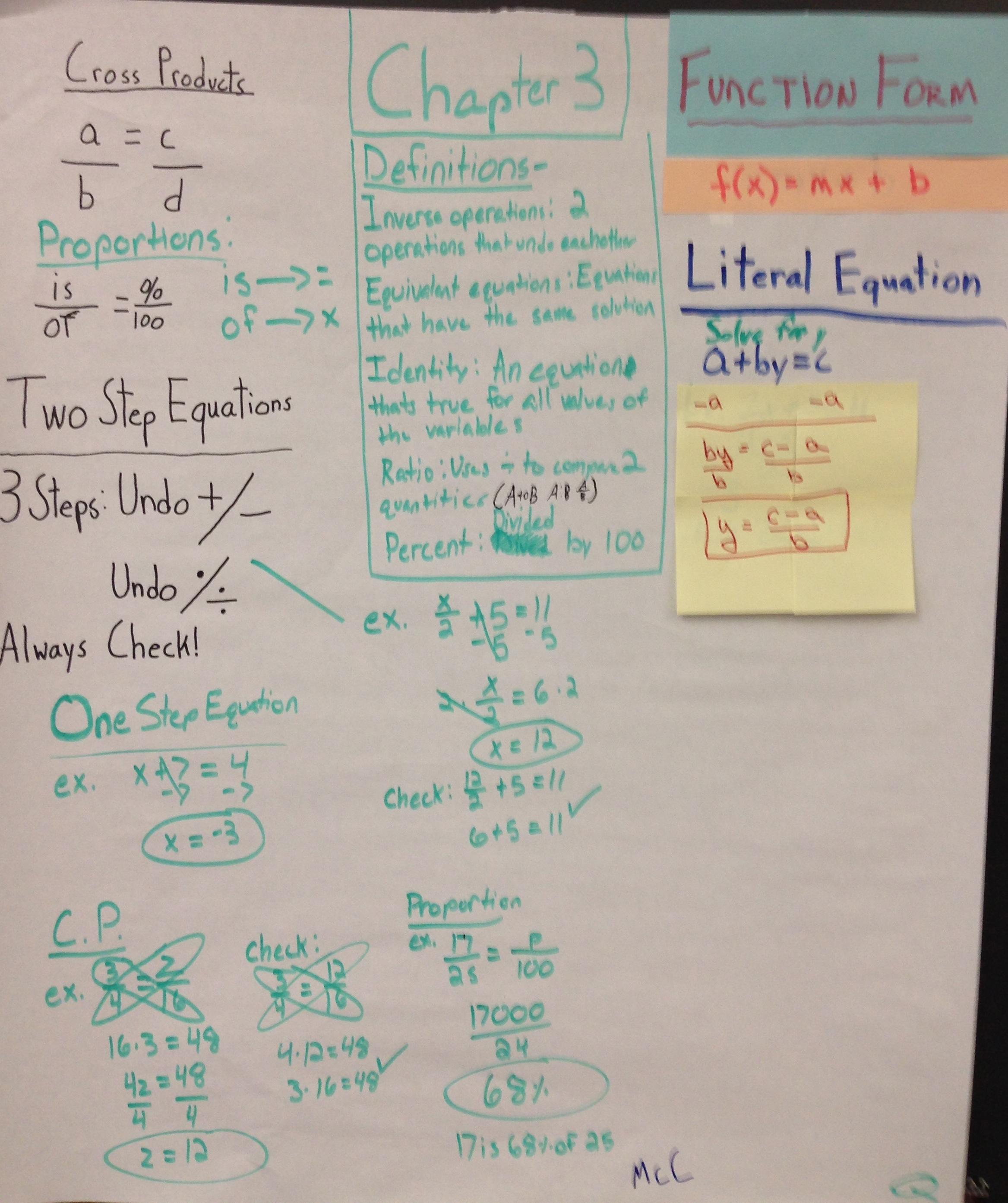 Algebra 1 Midterm Exam With Answers