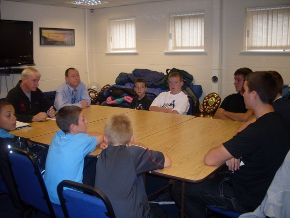 Brunswick supporting local young people to engage with members of Sefton Council to share their views on issues affecting them and their community.