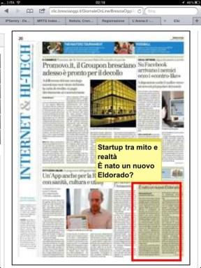 Bresciaoggi – lunedì 02 aprile 2012 – INTERNET – Pagina 20