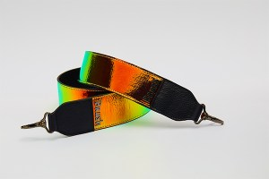 Wide Strap in Reflective Orange