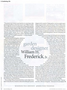 Garden Designer: Bill Frederick 2