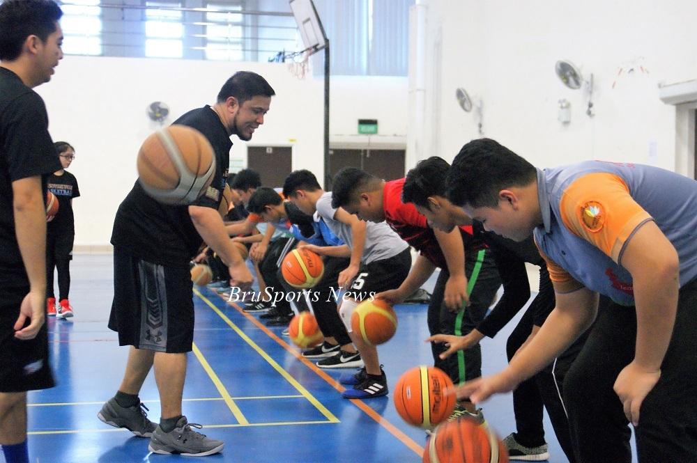Shooting Stars promote basketball at Rimba II Secondary School