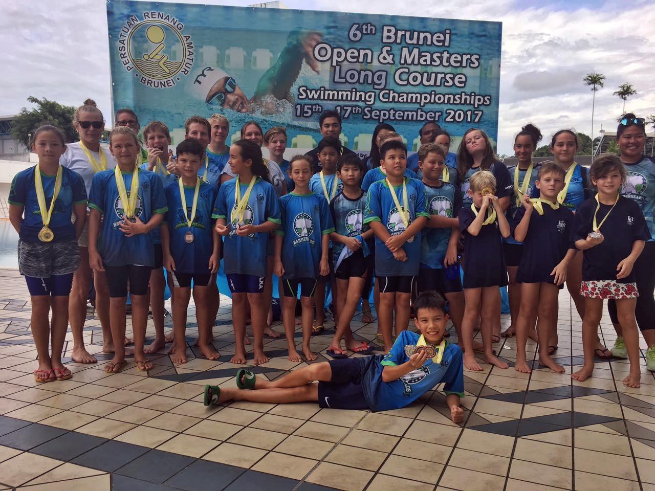 ISB Hammerheads swim to Brunei Open crown