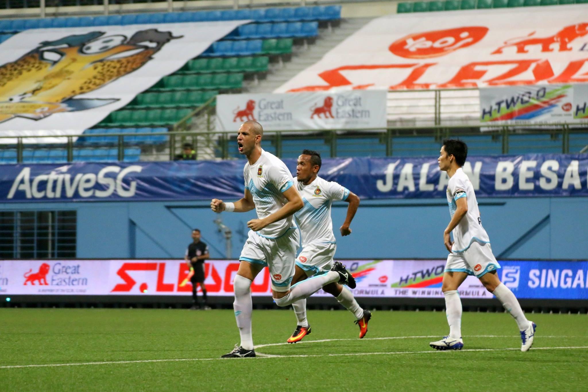 Ramazotti bids farewell to DPMM FC