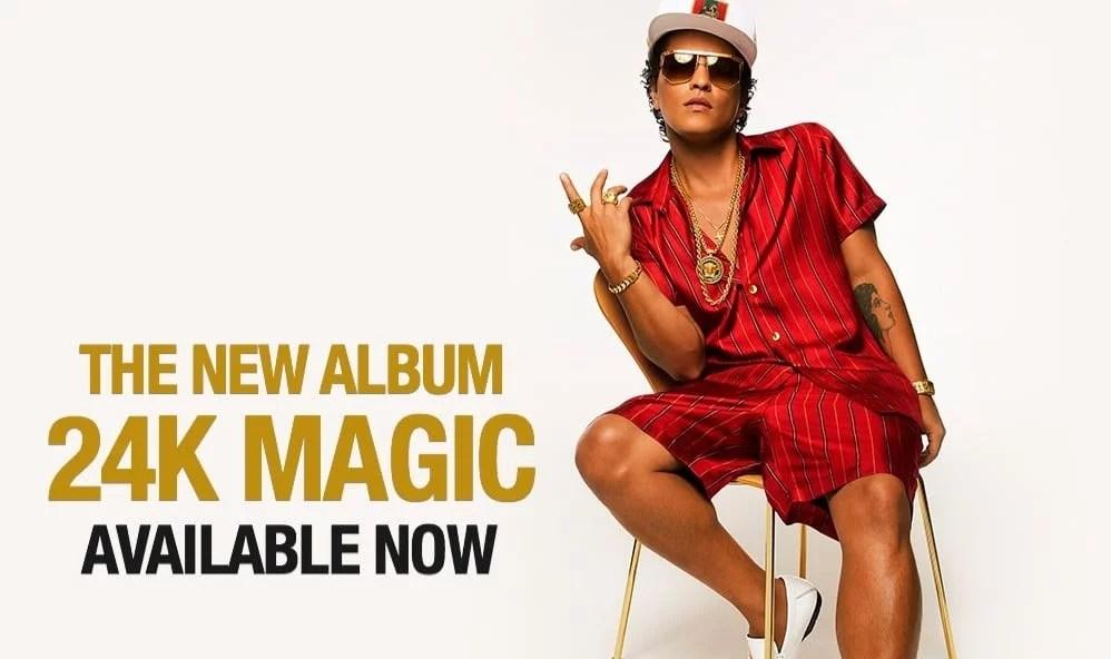 Bruno Mars konserter i Antwerpen