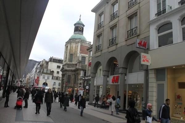 Shopping i Brussel