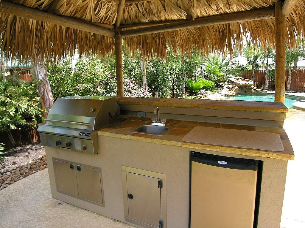 outdoor kitchen sinks dining chair pads grilling in the great outdoors essential ideas for your