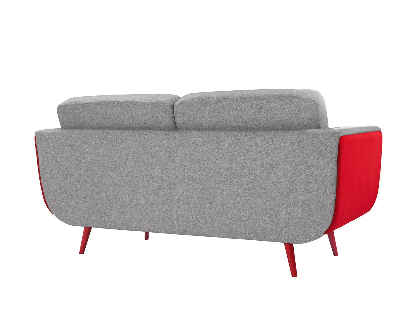 red sofa cafe baku modern colors possi light 3s 178cm x 87cm  salon meblowy brw
