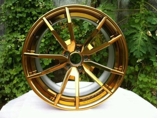 Bfl22 Custom 20 Inch Chrome Gold Rims For Mercedes Benz The Design Of Forgiato Wheels
