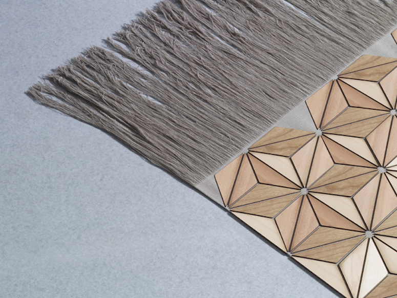 Elisa Strozyks CozyLooking Textiles Are Made of Wood