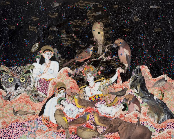 Collage Art Maria Berrio Intricate 'll
